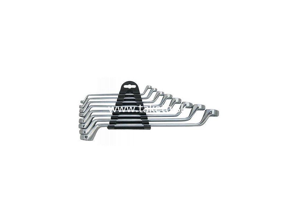 Sada kľúčov Strend Pro HR32581 8 dielna, Cr-V, 6-22 mm, očkové, vyhnuté 75°  + praktický pomocník k objednávke