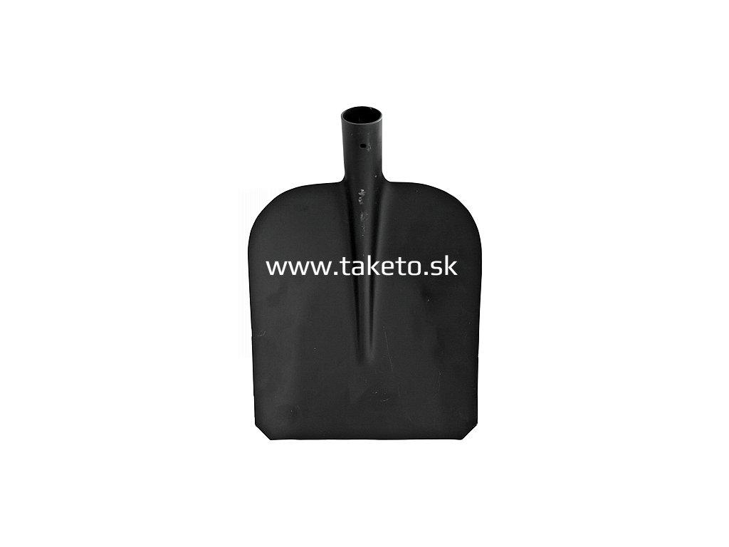 Lopata S504B, vzor 7130, čierna, bez násady, 280x235 mm  + praktický pomocník k objednávke