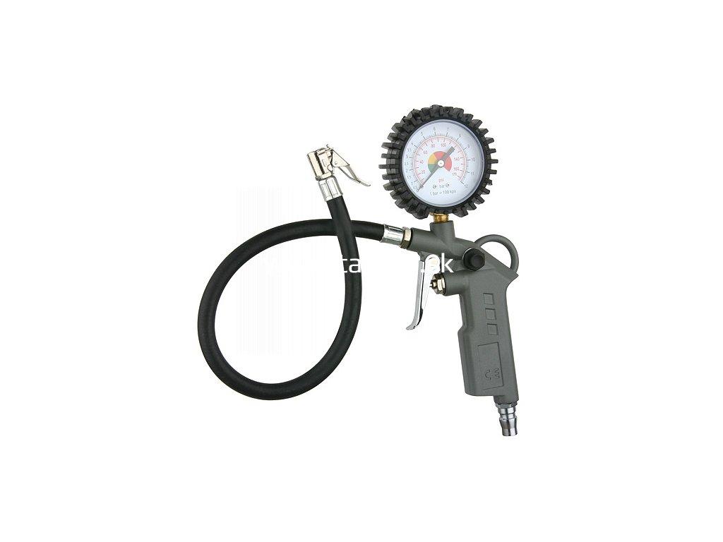 Pištoľ Airtool TG-11, s manometrom, plnič na pneumatiky na kompresor  + praktický pomocník k objednávke
