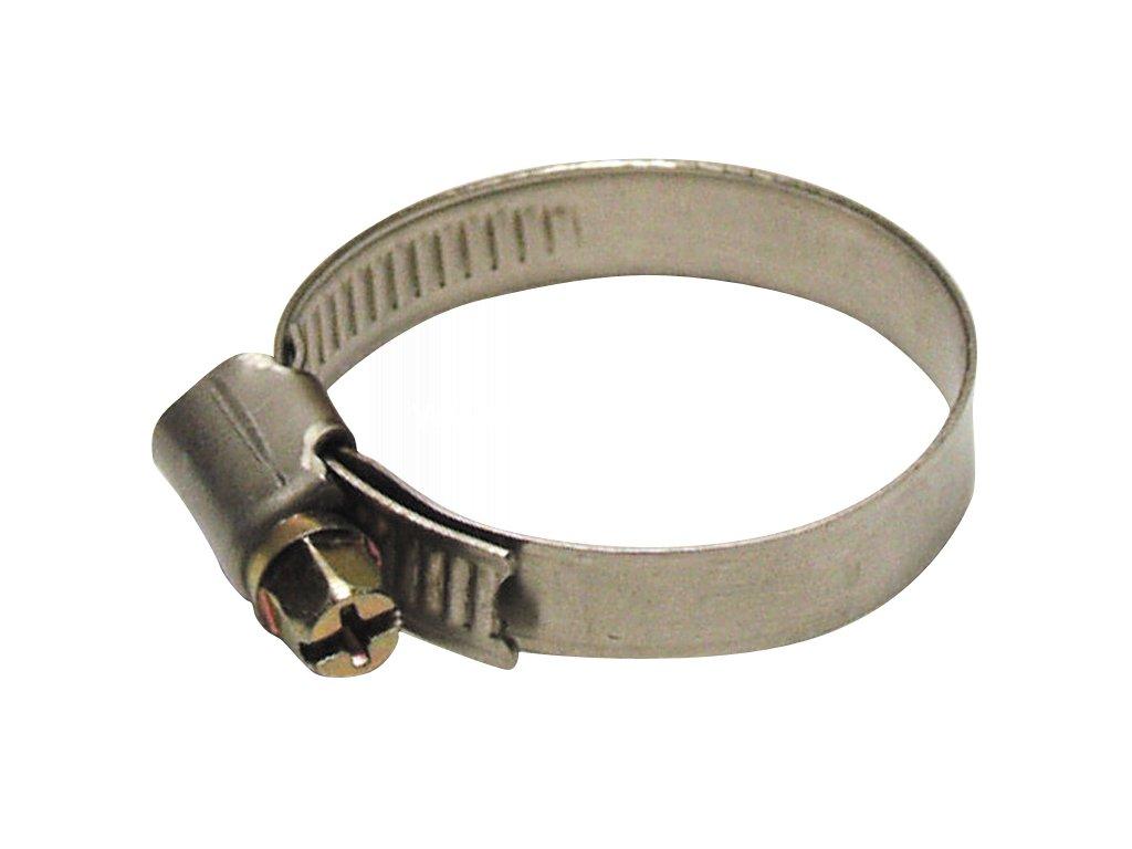 Spona upínacia S301 16-025 mm, na hadicu, Inox, nerez  + praktický pomocník k objednávke