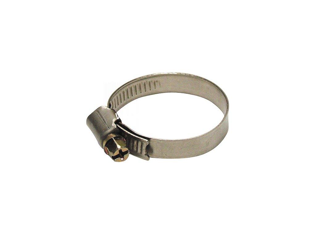 Spona S301 08-012 mm, na hadicu, Inox, nerez  + praktický Darček k objednávke