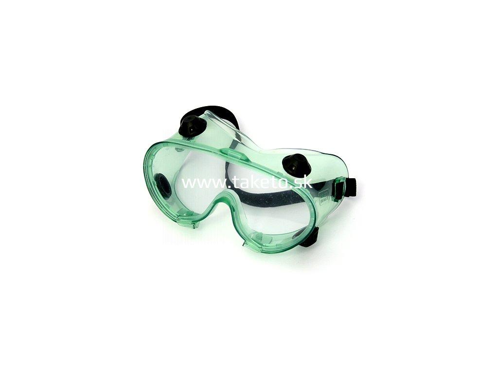 Okuliare Safetyco B403, ochranné, číre, s ventilmi  + praktický Darček k objednávke