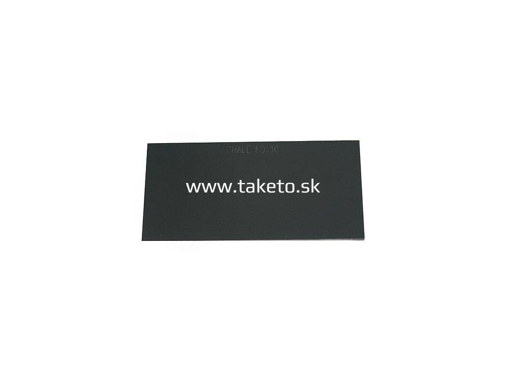 Sklo do zváračskej kukly XG716 110x50 mm 10, náhradné  + praktický pomocník k objednávke