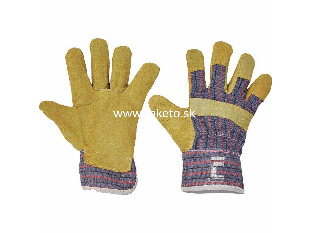 Rukavice TERN 10, kombinované  + praktický pomocník k objednávke