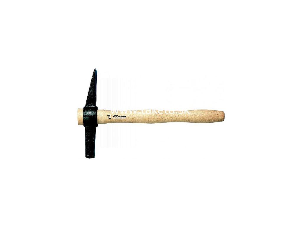 Kladivo Zbirovia 709/0750 g, murárske, drevo  + praktický pomocník k objednávke