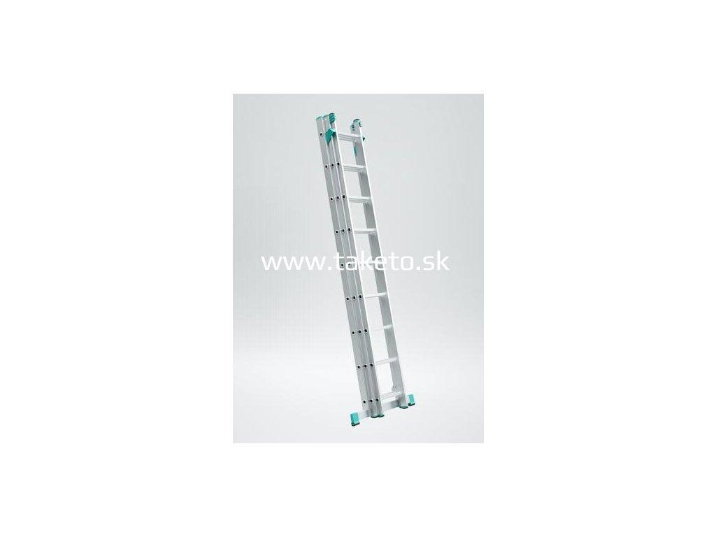 Rebrík ALVE 7808, 3x08, univerzálny, A230 B513, na schody  + praktický pomocník k objednávke