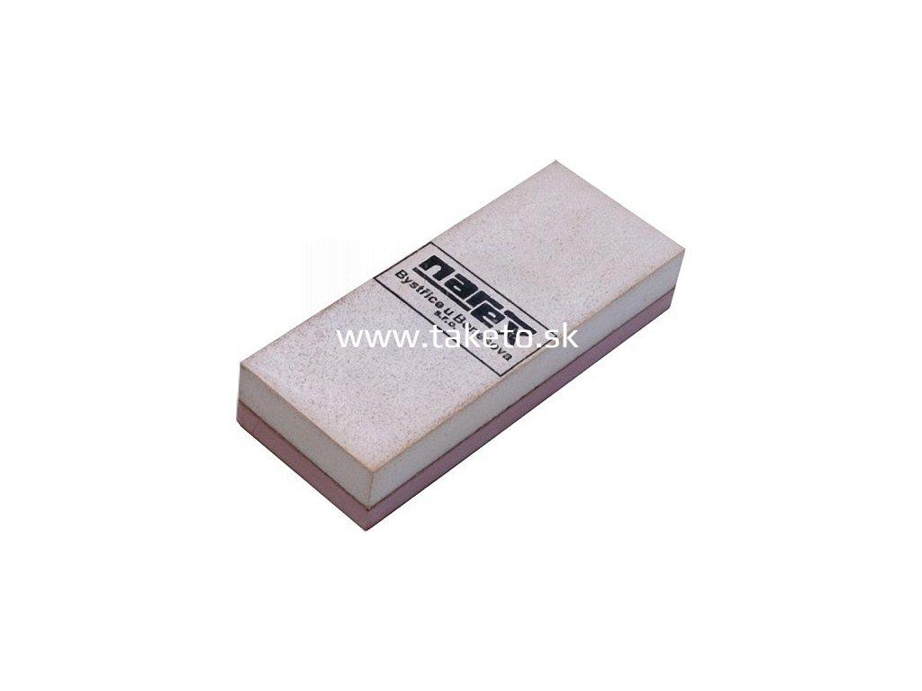 Brúsič Narex 8951 00 • 130x50x25, umelý korund, brúsny kameň  + praktický Darček k objednávke