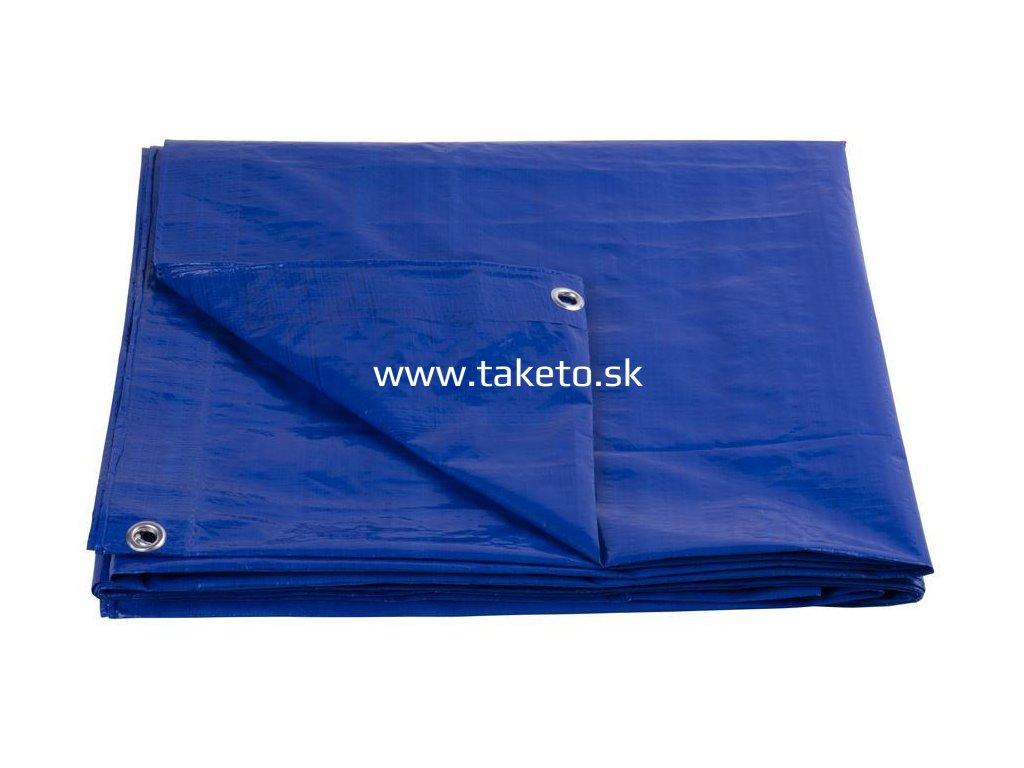 Plachta Tarpaulin Standard 08x12, zakrývacia, 80 g/m2, modrá  + praktický pomocník k objednávke