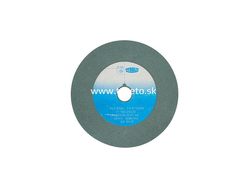 Kotúč Tyrolit 416368, 150x20x20 mm, 49C60J9V40 (zrnitosť 60)  + praktický pomocník k objednávke