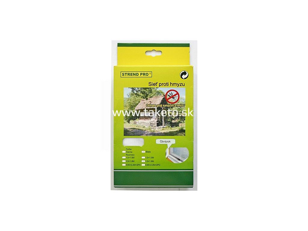 Sieť FlyScreen 220x065 cm, proti hmyzu a komárom, na balkón, bal. 2 ks  + praktický pomocník k objednávke