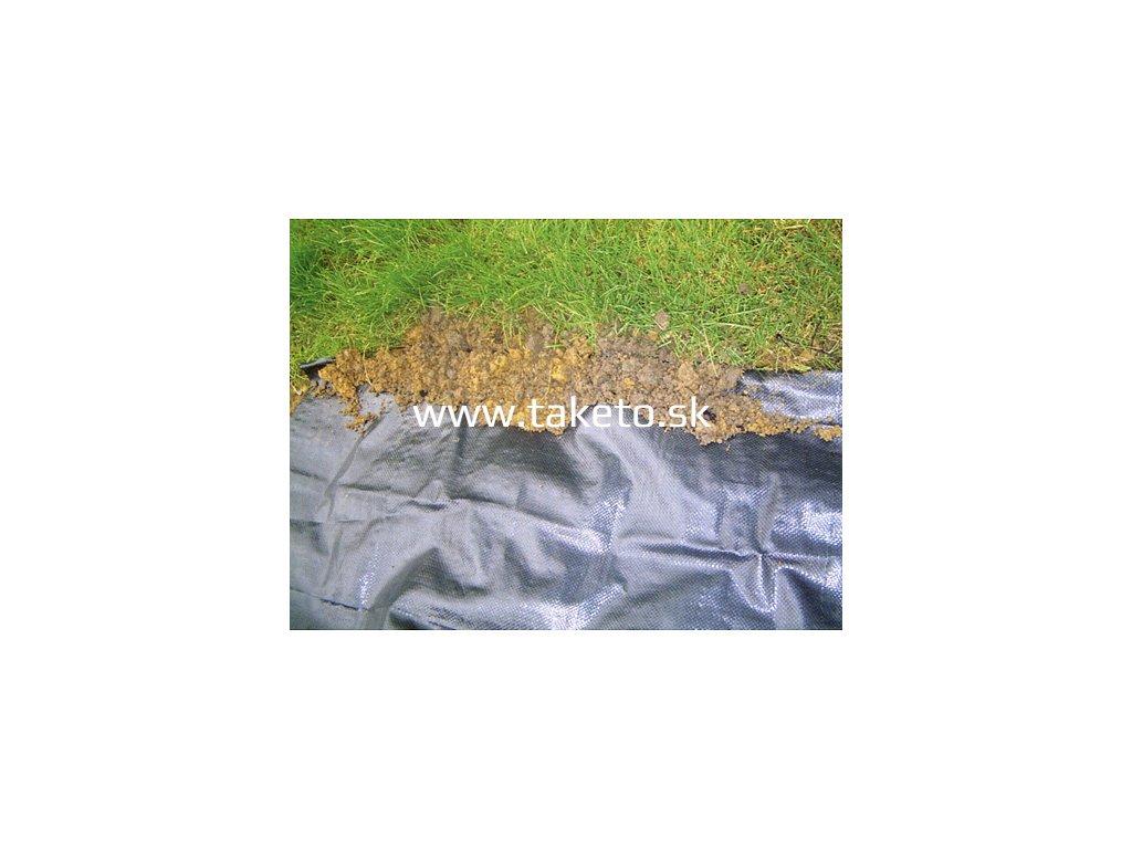 Textília Garden H1107 2,1x100 m, 100 g/m2, tkaná, čierna  + praktický pomocník k objednávke