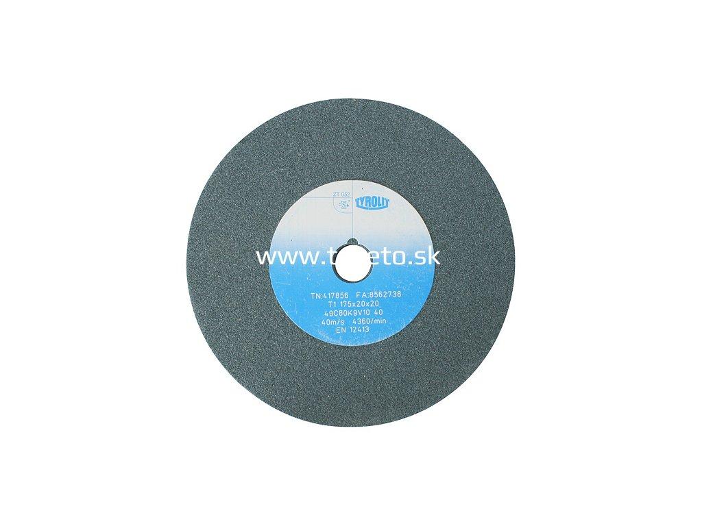 Kotúč Tyrolit 417856, 175x20x20 mm, 49C80K9V40 (zrnitosť 80)  + praktický pomocník k objednávke