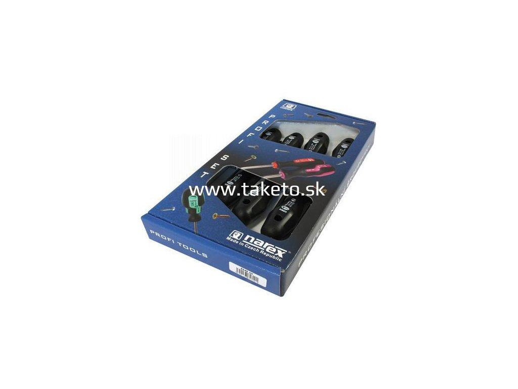 Sada skrutkovačov Narex 8646 00, 7 dielna, 3xPLO, 2xPH, 2xPZ, Profi  + praktický pomocník k objednávke