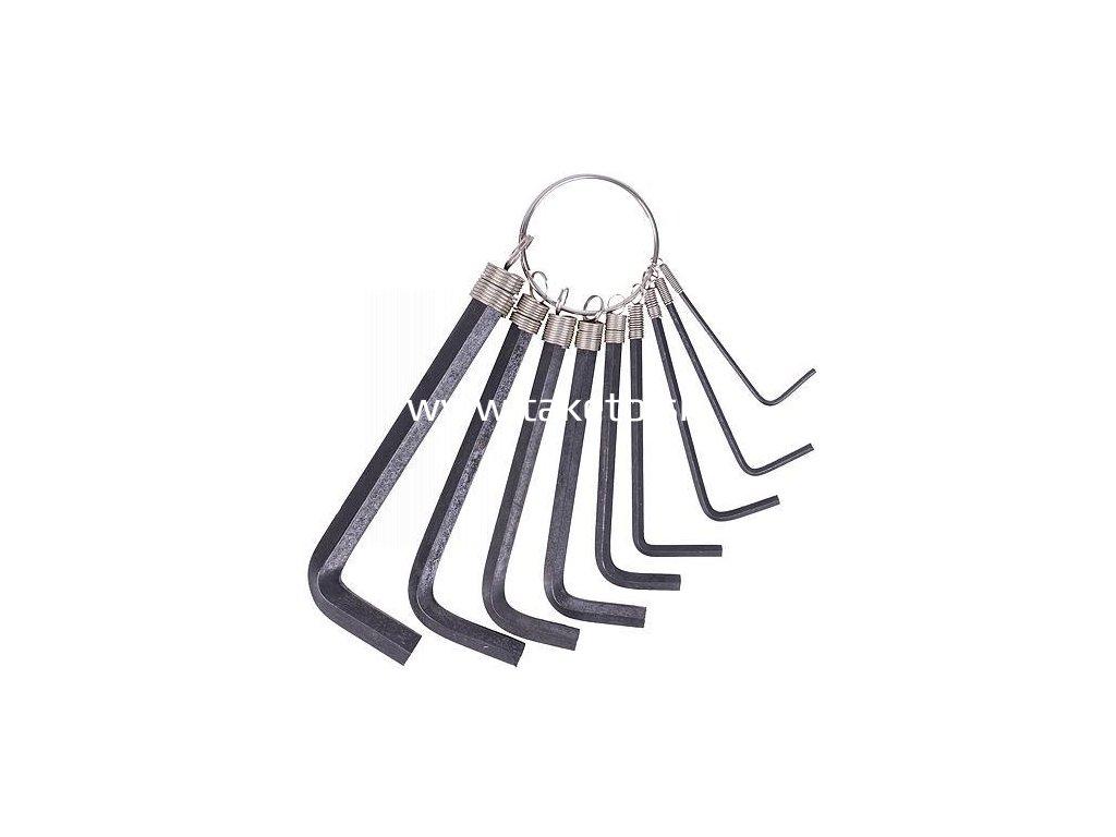 Sada kľúčov Strend Pro HK0041, 9 dielna, 1,5-10 mm, Hex, zástrčná  + praktický pomocník k objednávke