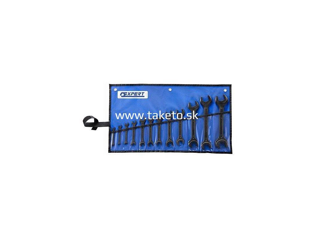 Sada kľúčov Expert® E114040, vidlicová, 12 dielna, DIN 895, vinyl  + praktický Darček k objednávke