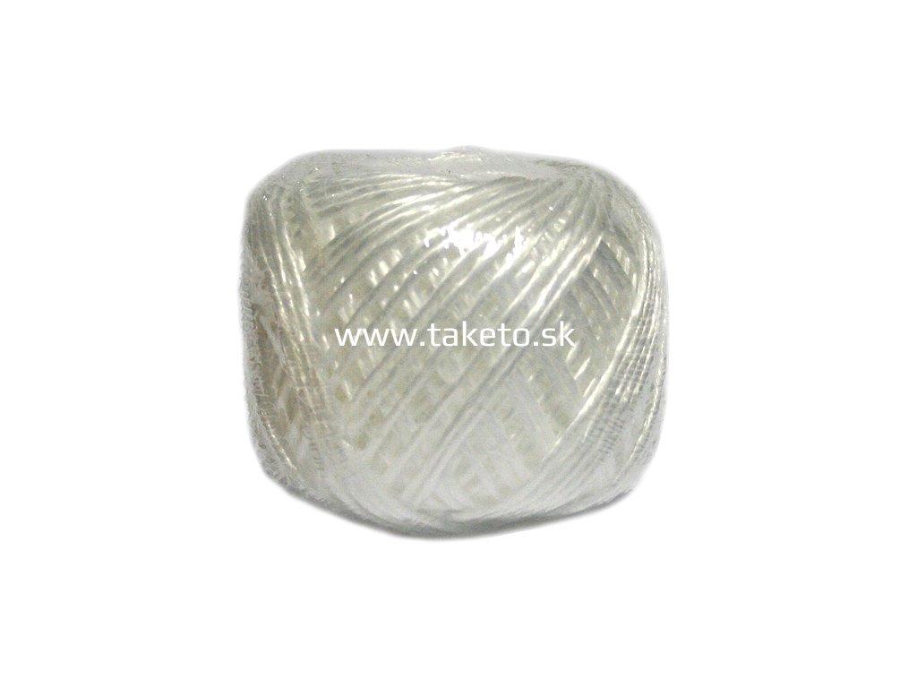 Motuz HEMP, 100 g, biely  + praktický Darček k objednávke