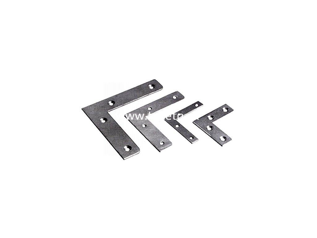 Rohovník T0281 100x22x2,5 mm, bal. 4 ks, spájací, oceľový  + praktický pomocník k objednávke