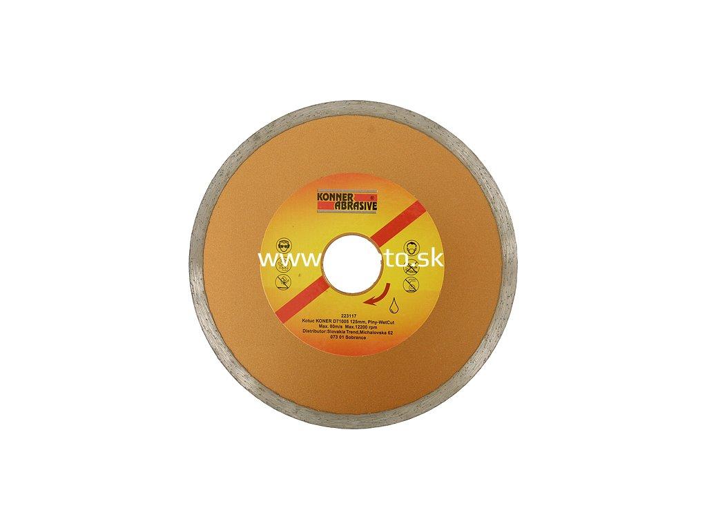 Kotuc diamantový KONER D71001 125 mm, Full, plný  + praktický Darček k objednávke