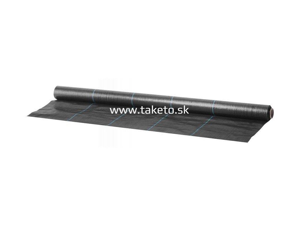 Textilia Garden H1101 1,0x10 m, 100 g/m2, tkaná, čierna  + praktický pomocník k objednávke
