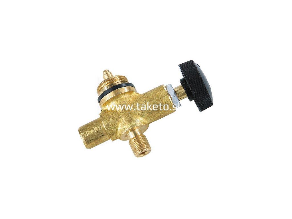Plynový ventil Meva 2157, LPG, jednocestný regulátor, závit M9x0.75 mm  + praktický pomocník k objednávke