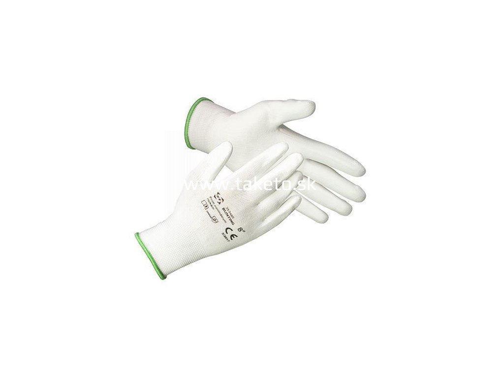 Rukavice ST BROTULA White 10 (XL) záhradné, biele  + praktický pomocník k objednávke