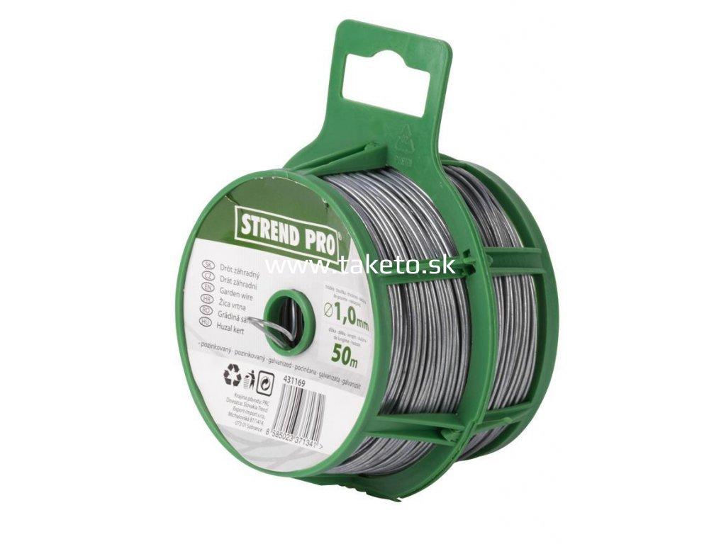 Drôt Garden Wire Basket Zn 1,00 mm, L-050 m  + praktický pomocník k objednávke