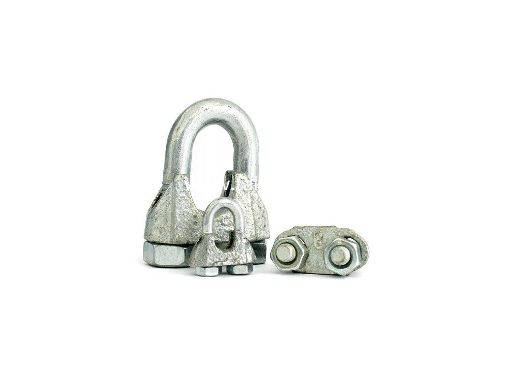 Svorka 99-3 • 06 mm, lanová, Zn  + praktický pomocník k objednávke