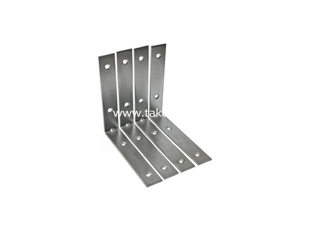 Uholník T0282 200x33x2,8, konzola (4ks/bal) rohový, oceľový  + praktický pomocník k objednávke