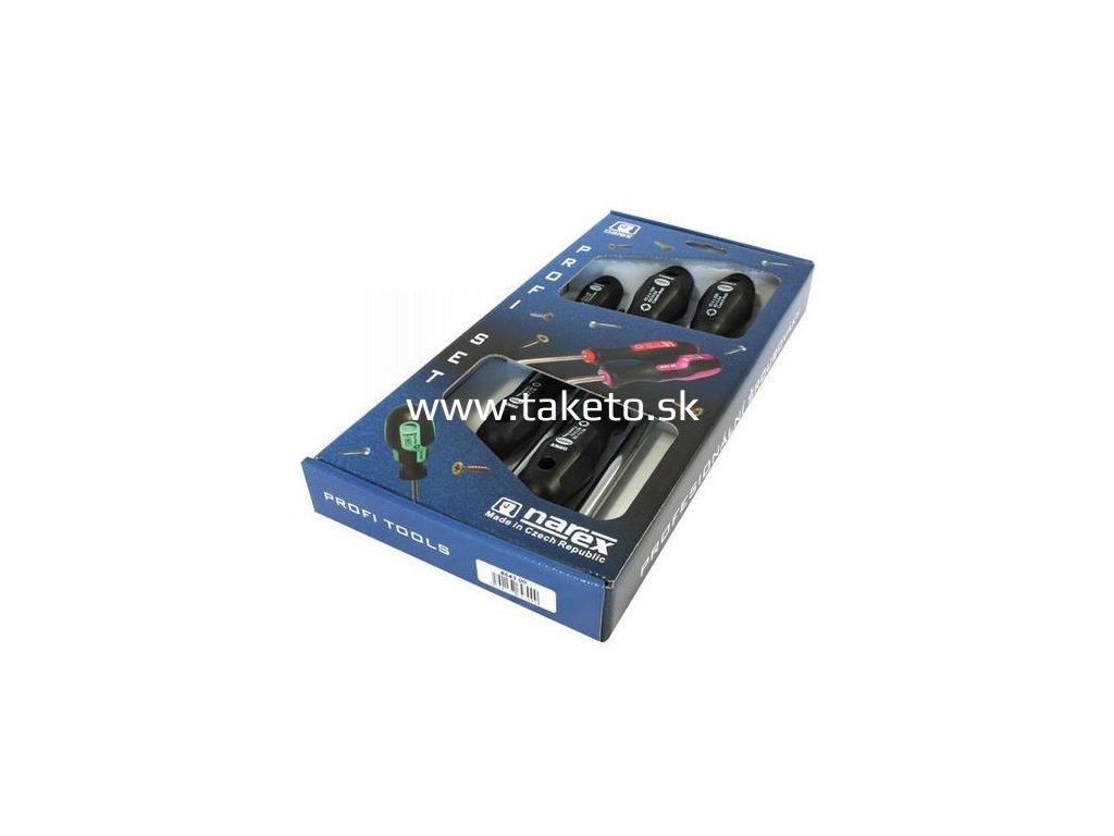 Sada skrutkovačov Narex 8643 00, 5 dielna, 5xPZ, 0-4, Profi  + praktický pomocník k objednávke
