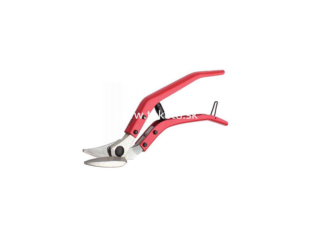 Nožnice Rostex 2324, 300 mm, na plech, vystrihovacie, vyosené, max. 1.3 mm  + praktický pomocník k objednávke