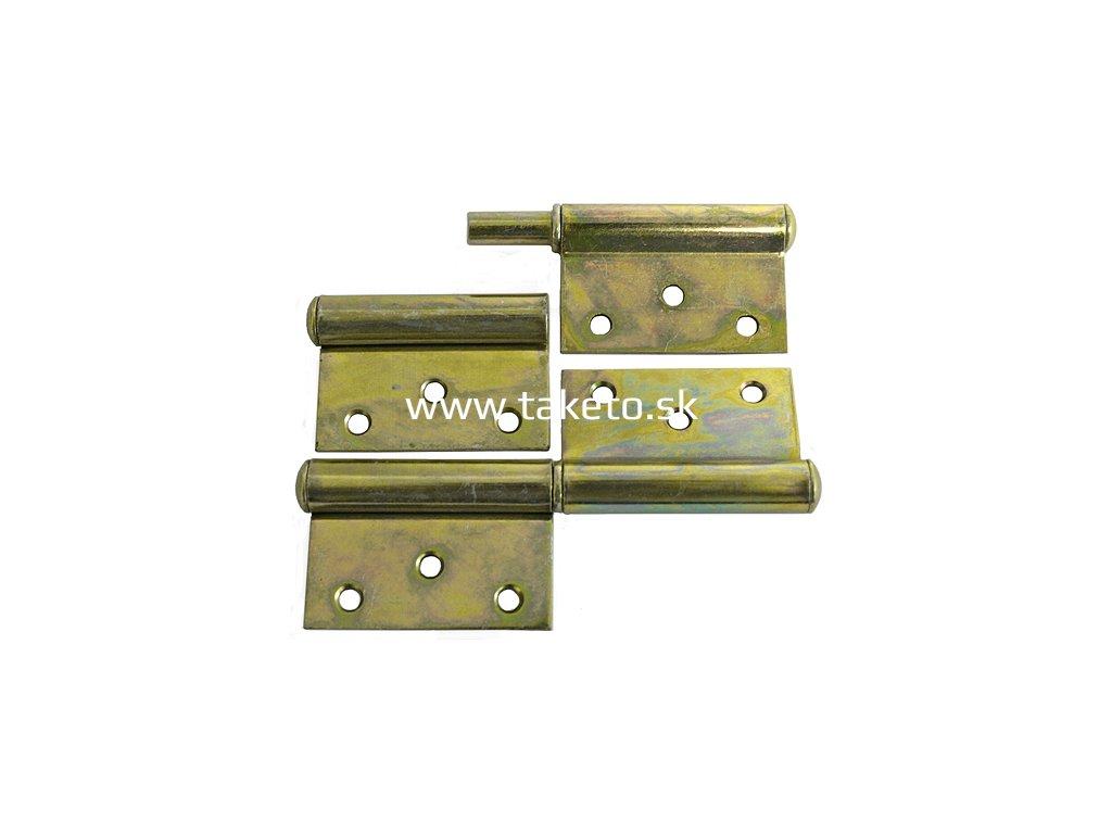 Záves dverový T0018A • 080x45x1.5 mm, Yzn  + praktický pomocník k objednávke