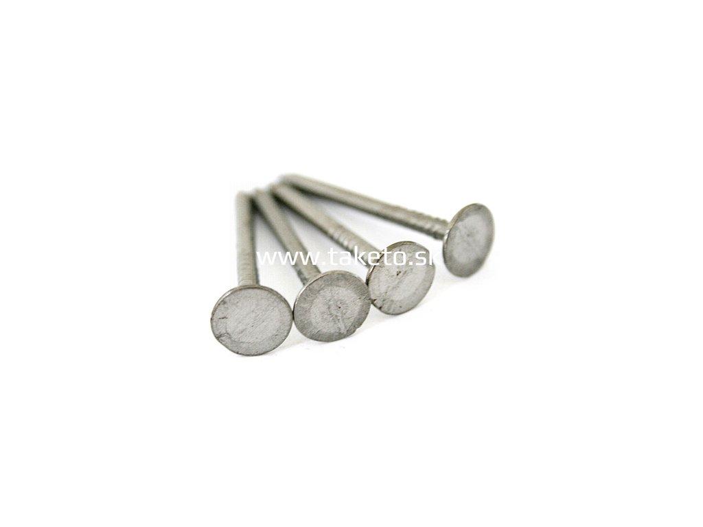 Klince lepenkové 25x2,5 mm, Zn, bal. 2.5 kg  + praktický pomocník k objednávke