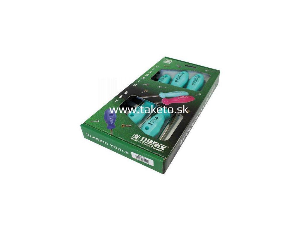 Sada skrutkovačov Narex 8652 00, 5 dielna, 5xPH, 0-4, Classic Line  + praktický pomocník k objednávke