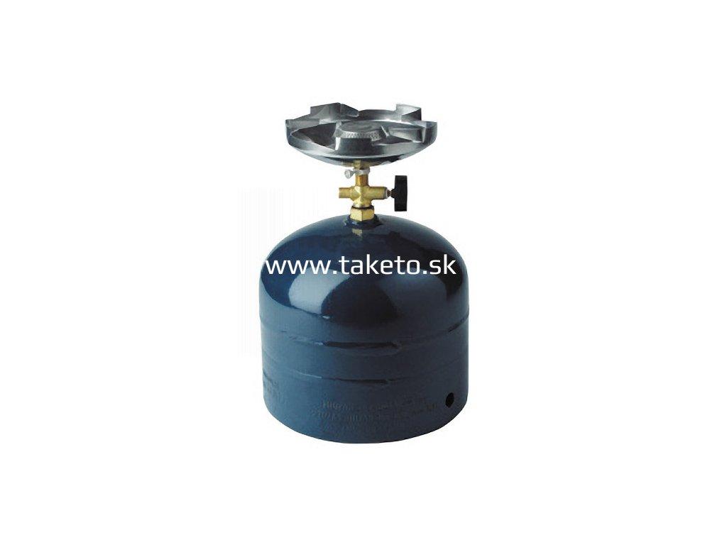 Varic Meva Solo, 1.2 kW, na 2 kg PB fľašu, kempingový (fľaša nie je súčasťou dodávky)  + praktický pomocník k objednávke