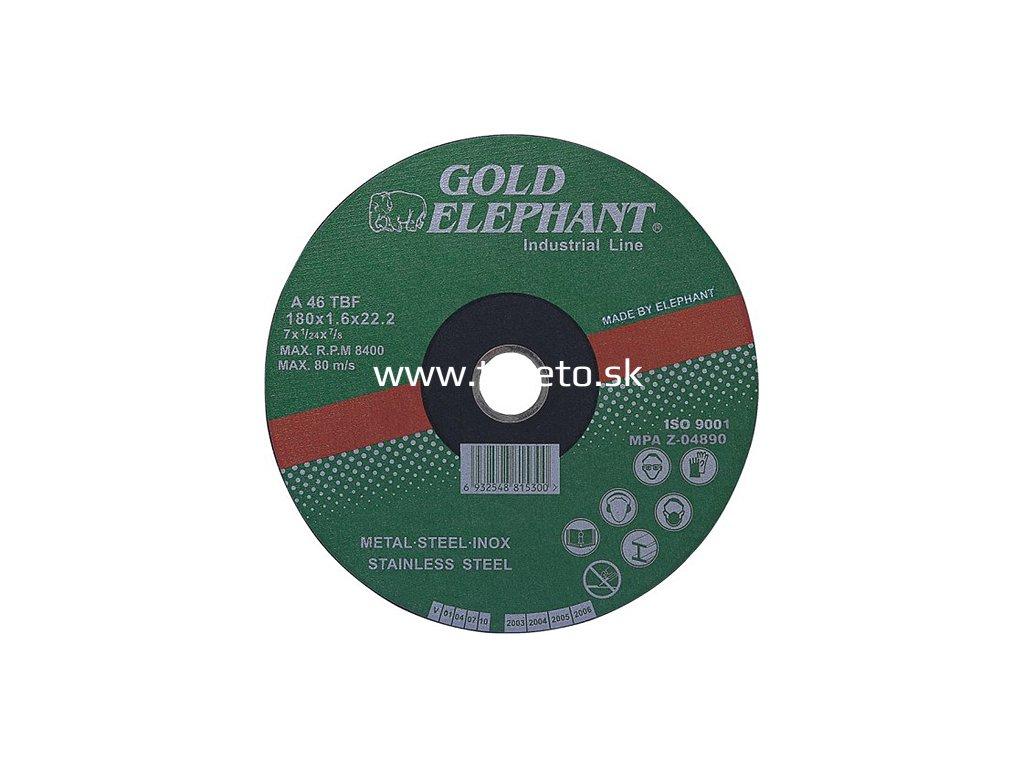 Kotuc Gold Elephant 41AA 115x1,0x22,2 mm, kov, oceľ, inox, nerez A46TBF  + praktický Darček k objednávke