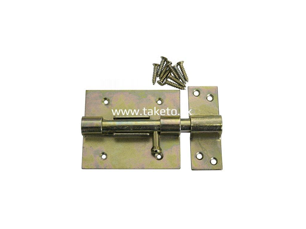 Zástrč na dvere T0126 • 070x2 mm, Yzn  + praktický pomocník k objednávke