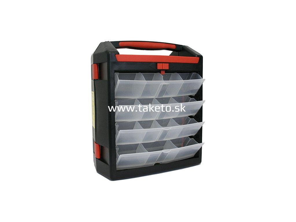Organizer STREND PRO BBx3027, 30 zásuviek, kufrík, max. 12 kg  + praktický Darček k objednávke