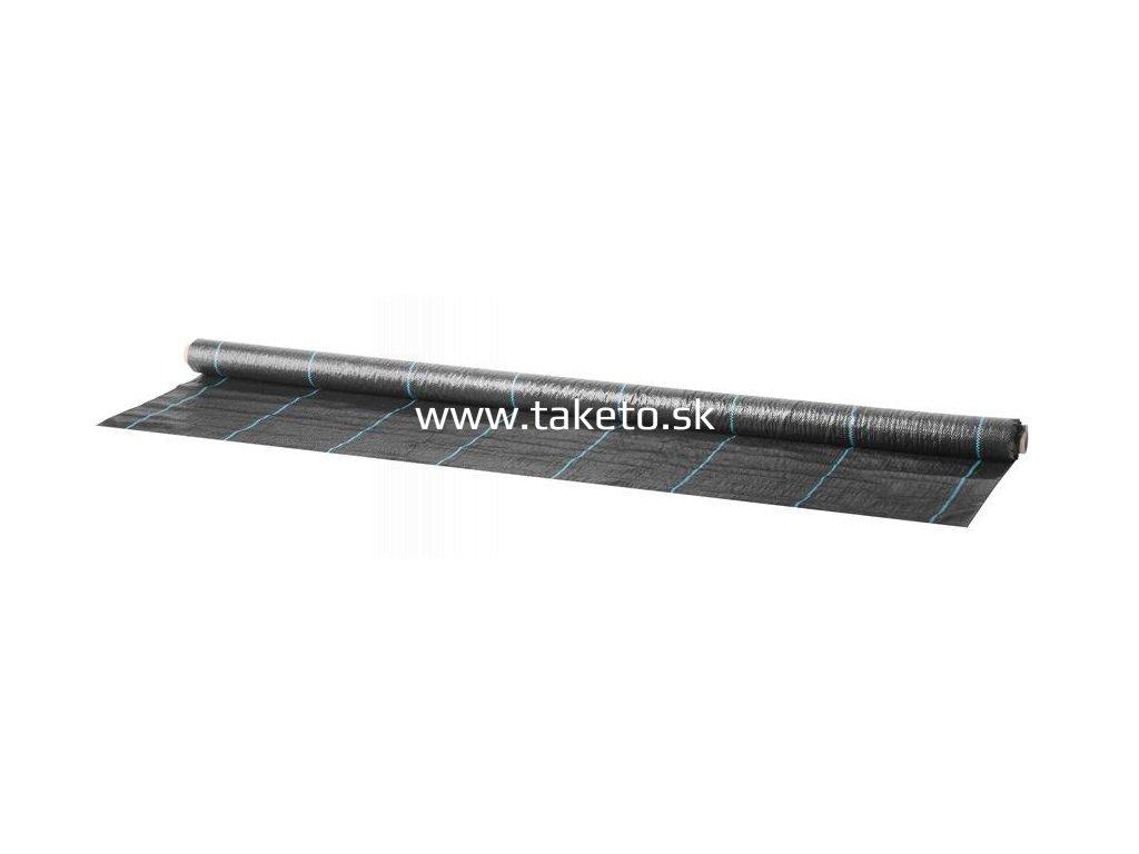 Textilia Garden H1101 1,5x10 m, 100 g/m2, tkaná, čierna  + praktický Darček k objednávke