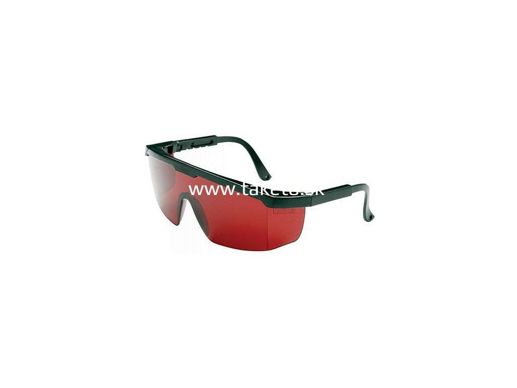 Okuliare Safetyco B507, červené, ochranné, nastaviteľné  + praktický pomocník k objednávke