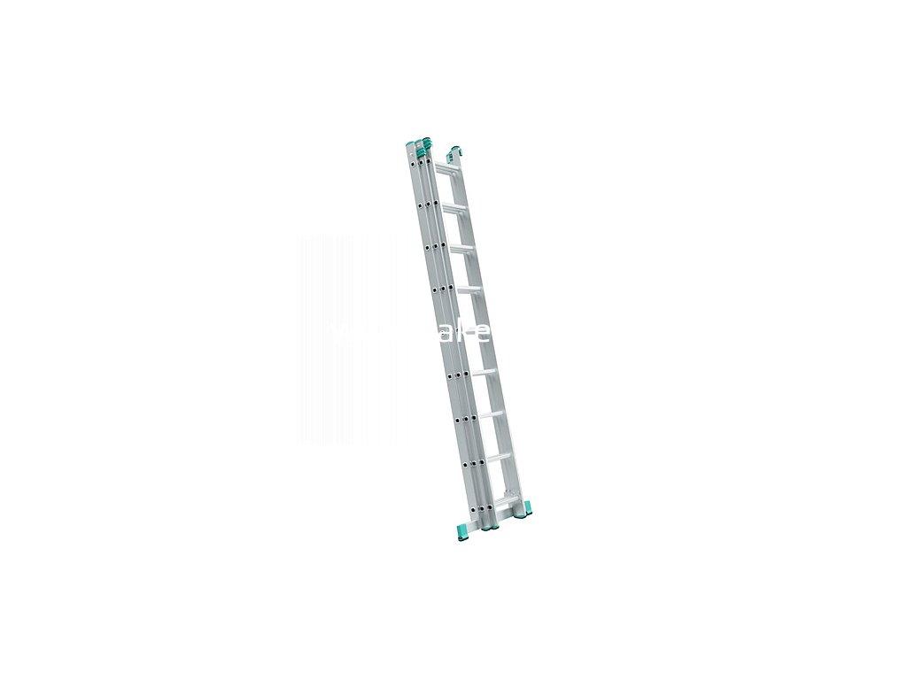Rebrík ALVE EUROSTYL PROFI 7609, 3x09, univerzálny, A258 B569  + praktický pomocník k objednávke