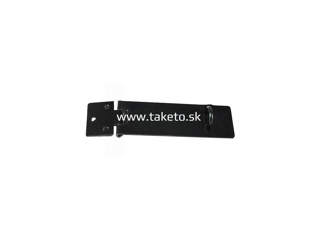 Petlica na dvere T0261B • 100 mm, čierna  + praktický pomocník k objednávke