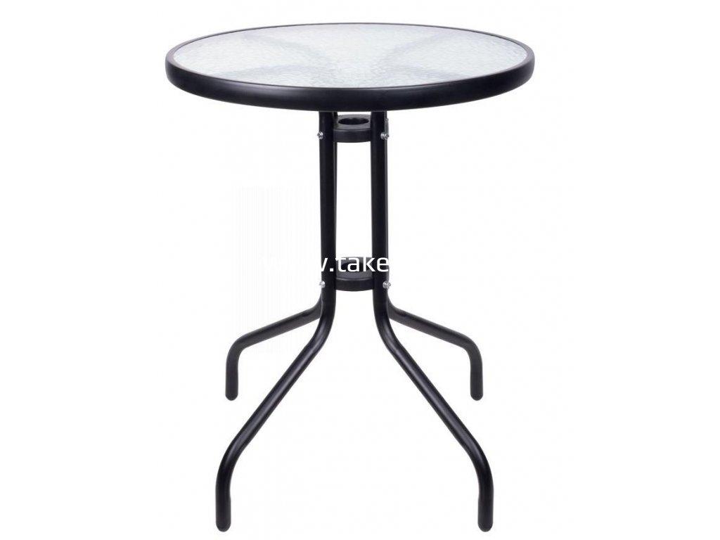 Stôl LEQ ALESIA, hnedý, 70x60 cm  + praktický pomocník k objednávke