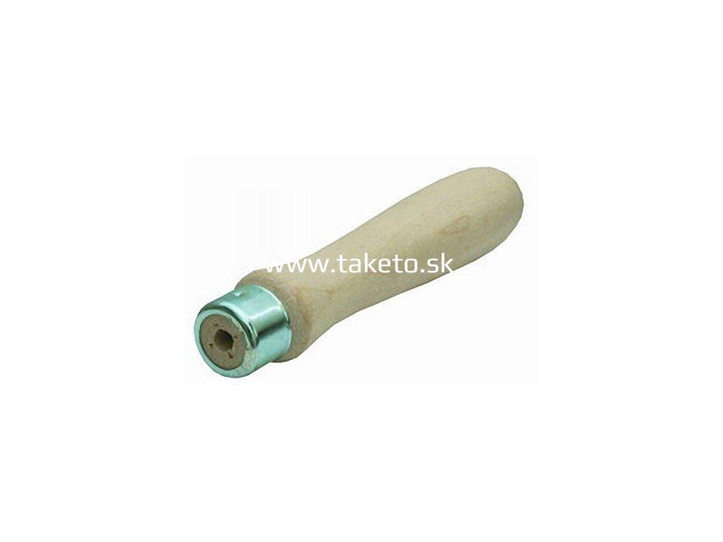 Rukoväť DIPRO 130 mm, na pilník, buk-lak  + praktický pomocník k objednávke