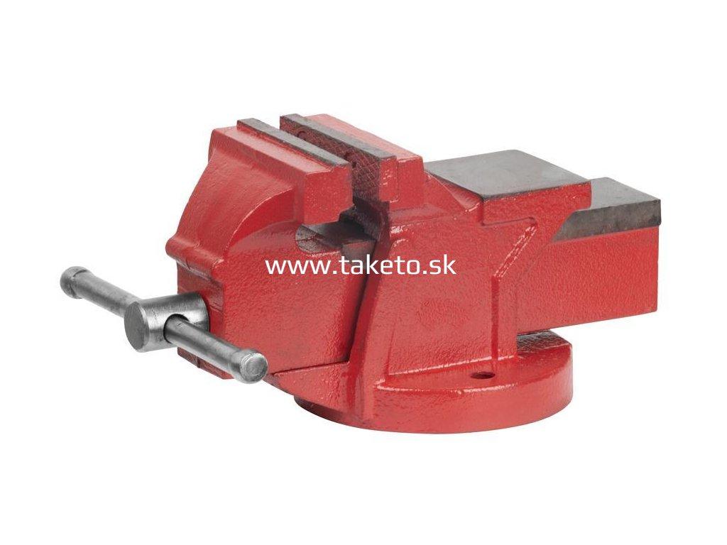 Zverák Cork BV0110, 125 mm, GT, dielenský, zámočnícky  + praktický pomocník k objednávke