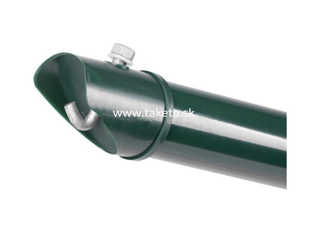 Vzpera Strend Pro METALTEC, Zn+PVC, zelená, RAL6005, 48/2200/1,25 mm  + praktický pomocník k objednávke