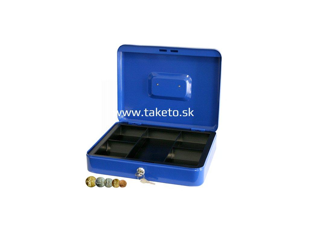 Skrinka CashBox 300x240x90 mm, na peniaze  + praktický pomocník k objednávke