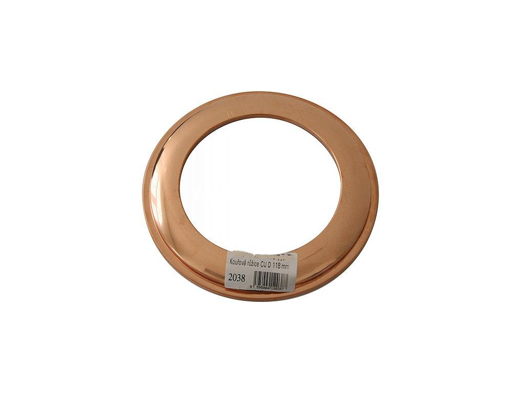 Ruzica Antikoro 2302 100 mm, Cu  + praktický pomocník k objednávke