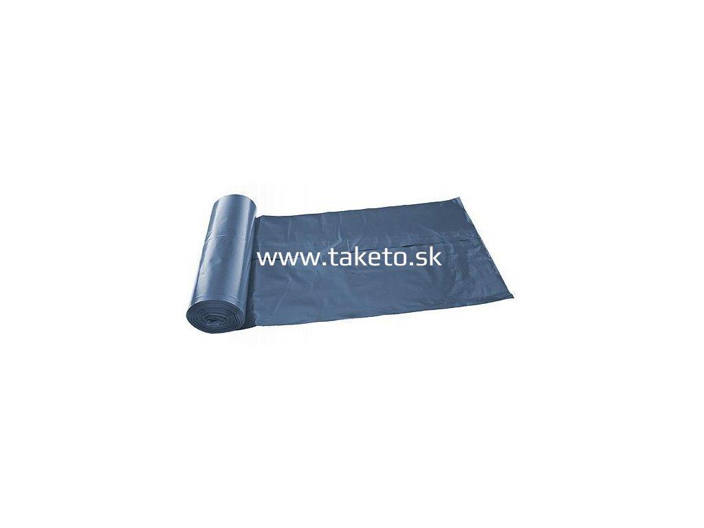 Vrecia ROLO LDPE 070x110x0,040 cm, modré, 25 ks, 120 lit.  + praktický pomocník k objednávke