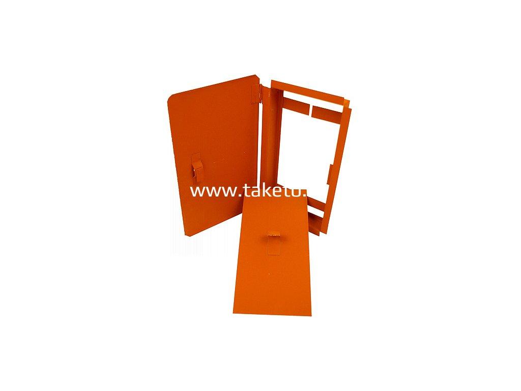 Dvierka kominové, malé, 150x150 mm  + praktický pomocník k objednávke