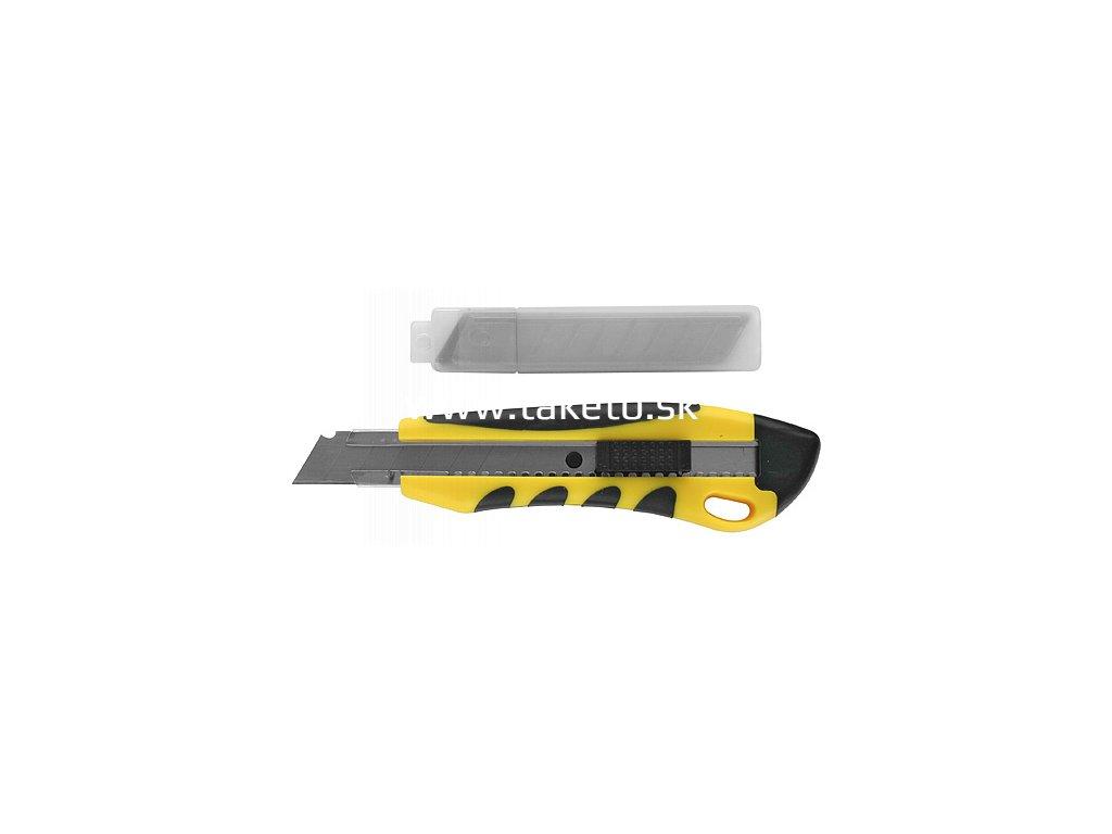 Nôž Strend Pro UK888+1A, 18 mm, odlamovací, + 10 ks čepelí  + praktický pomocník k objednávke